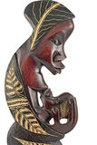 African statuettes Royalty Free Stock Photo