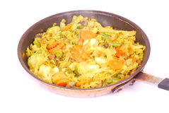 African stir fry vegetables Stock Images