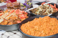 African street food Stock Image