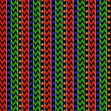 African Stripes. Ethnic colorful stripes background. Seamless pattern Royalty Free Stock Photo