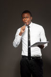 African student Royalty Free Stock Photo