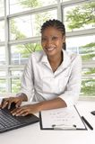 African Student / Business Woman Royalty Free Stock Photo