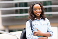 African student campus Stock Photo
