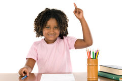 African student girl Royalty Free Stock Images