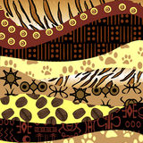 African style background Stock Image