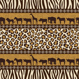 African style seamless Royalty Free Stock Photos