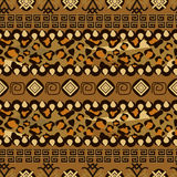 African style seamless with cheetah skin pattern Stock Photo
