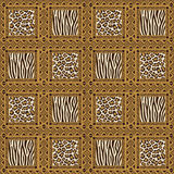 African style seamless pattern Royalty Free Stock Photos