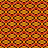 African style seamless surface pattern with abstract figures. Bright ethnic and tribal print grid geometric forms. African style seamless surface pattern with Stock Image