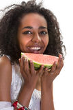 African summer girl Royalty Free Stock Photography