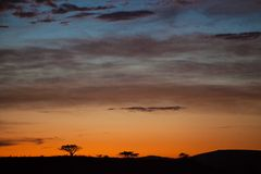 African Sunrise South Africa Royalty Free Stock Images