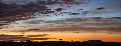 African sunset , South Africa Royalty Free Stock Image