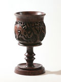 African Syle Wooden Cup Royalty Free Stock Photo