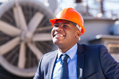 African technical manager Royalty Free Stock Photos