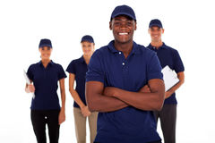 African technical worker Royalty Free Stock Images