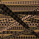 African texture in brown tones Royalty Free Stock Image