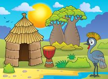 African thematics image 1 royalty free illustration