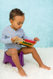 African toddler on potty Stock Photography