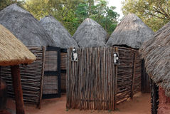 African toilets Stock Images