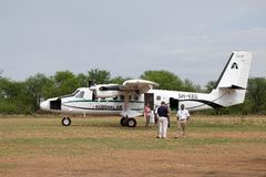 African tourism Royalty Free Stock Photos