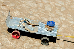 African toy car, Madagascar Royalty Free Stock Images