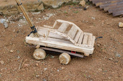 African toy car Royalty Free Stock Photo