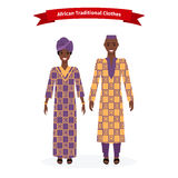 African Traditional Clothes People. People, Ethnic africa female, dress culture, cloth fashion for woman with pattern, girl tribal, lady smiling illustration vector illustration