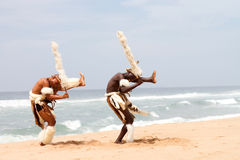 African traditional dancing Royalty Free Stock Photos