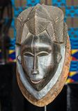 African traditional face mask. With excellent details Stock Photography