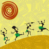 African traditional picture Royalty Free Stock Photos