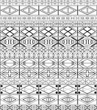 African-tribal-art pattern Royalty Free Stock Image