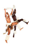 African tribal dancing Royalty Free Stock Photography