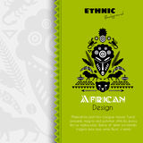 African Tribal Ethnic Art Background Royalty Free Stock Photo