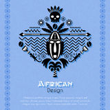 African Tribal Ethnic Art Background Royalty Free Stock Images