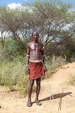African tribal man Stock Image
