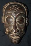 African Tribal Mask - Bayaka Tribe Stock Images