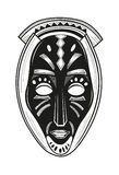 African tribal mask Royalty Free Stock Photos