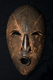 African Tribal Mask - Lega Tribe royalty free stock photo
