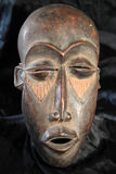 African Tribal Mask - Lega Tribe Stock Photo