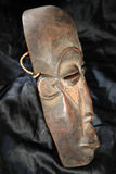African Tribal Mask - Lega Tribe stock image