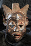 African Tribal Mask - Luba Tribe Royalty Free Stock Photos
