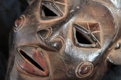 African Tribal Mask - Luba Tribe Royalty Free Stock Image