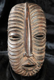 African Tribal Mask - Luba Tribe Stock Image