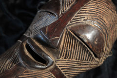 African Tribal Mask - Songe Tribe Stock Images