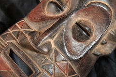 African Tribal Mask - Zande Tribe Royalty Free Stock Photography