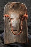 African Tribal Mask - Zande Tribe Stock Photography