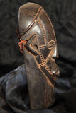 African Tribal Mask - Zande Tribe Stock Image