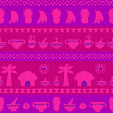 African Tribal Pattern Ethnic ornament Stock Photo