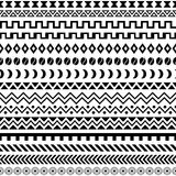 African Tribal Pattern Ethnic ornament Royalty Free Stock Images