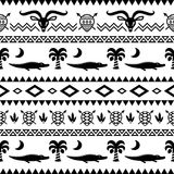 African Tribal Pattern Ethnic ornament Royalty Free Stock Photography